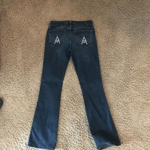 7's A pocket boot cut jeans